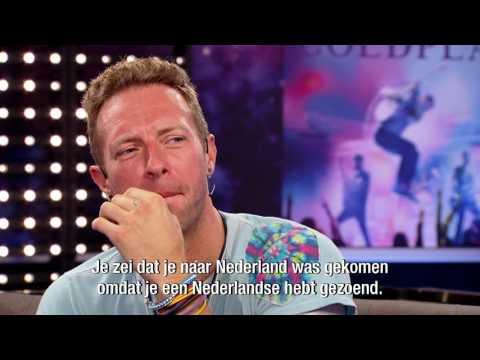 Chris Martin over zijn eerste liefde  - RTL LATE NIGHT