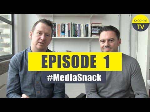 #MediaSnack Episode 1: Pepsi axe procurement, MediaPalooza, ANA Media Rebates - from ID Comms TV
