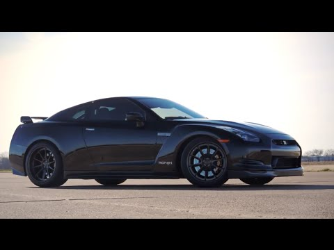 The Ronin GT-R by Alpha Performance 1000HP on pump fuel