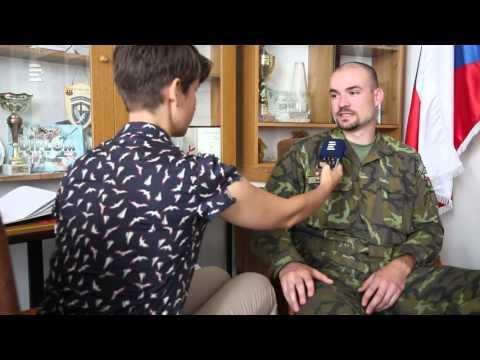 Michal Novotný zachránil těžce raněného amerického vojáka