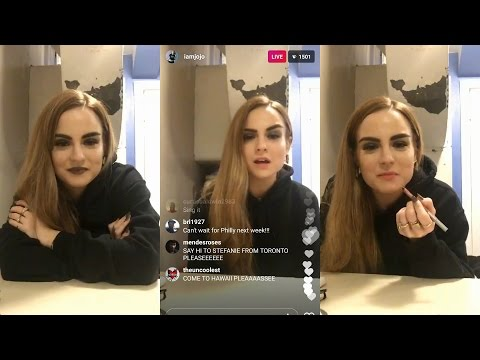 Joanna 'JoJo' Levesque  | Instagram Live Stream | 23 April 2017