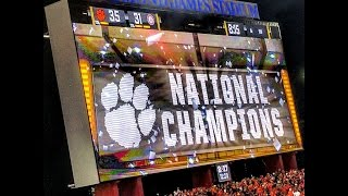 Clemson Tigers - 2017 National Championship Trip