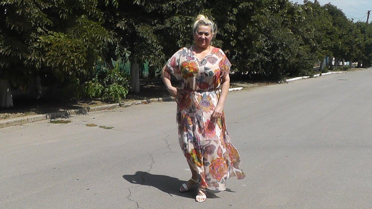 Шьем платье без выкройки легко и быстро