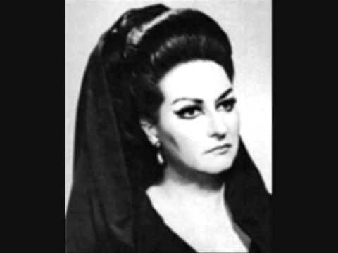 Montserrat caballe bellini norma ah bello a me - Casta diva lyrics ...