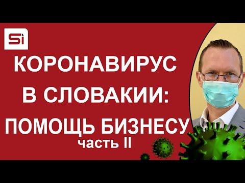 Короновирус в Словакии: Государственная программа помощи предпринимателям – часть II