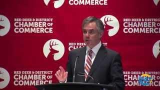 Premier Jim Prentice in Red Deer