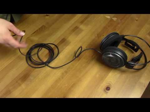 Audio Technica ATH AD700X Headphone Review