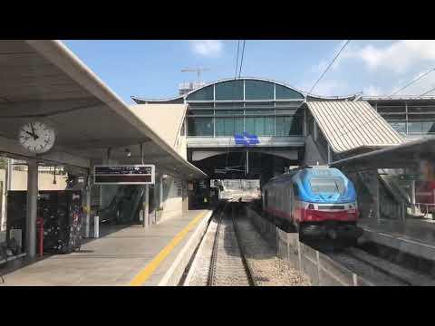 הנסיעה הראשונה לתל אביב. צילום: רכבת ישראל