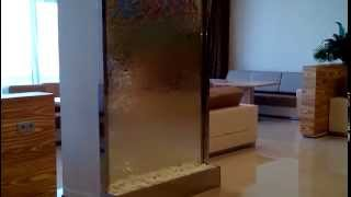 Интерьерный водопад в VIP зале. Аэропорт Минск 2(, 2014-05-11T23:05:00.000Z)
