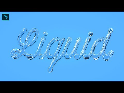 Liquid Lettering Tutorial | Adobe Photoshop