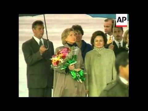 RUSSIA: MOSCOW: US PRESIDENT CLINTON ARRIVES FOR SUMMIT