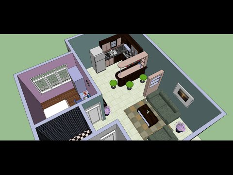 Make an Interior Design with Google Sketchup