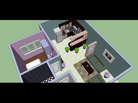 Make an Interior Design with Google Sketchup