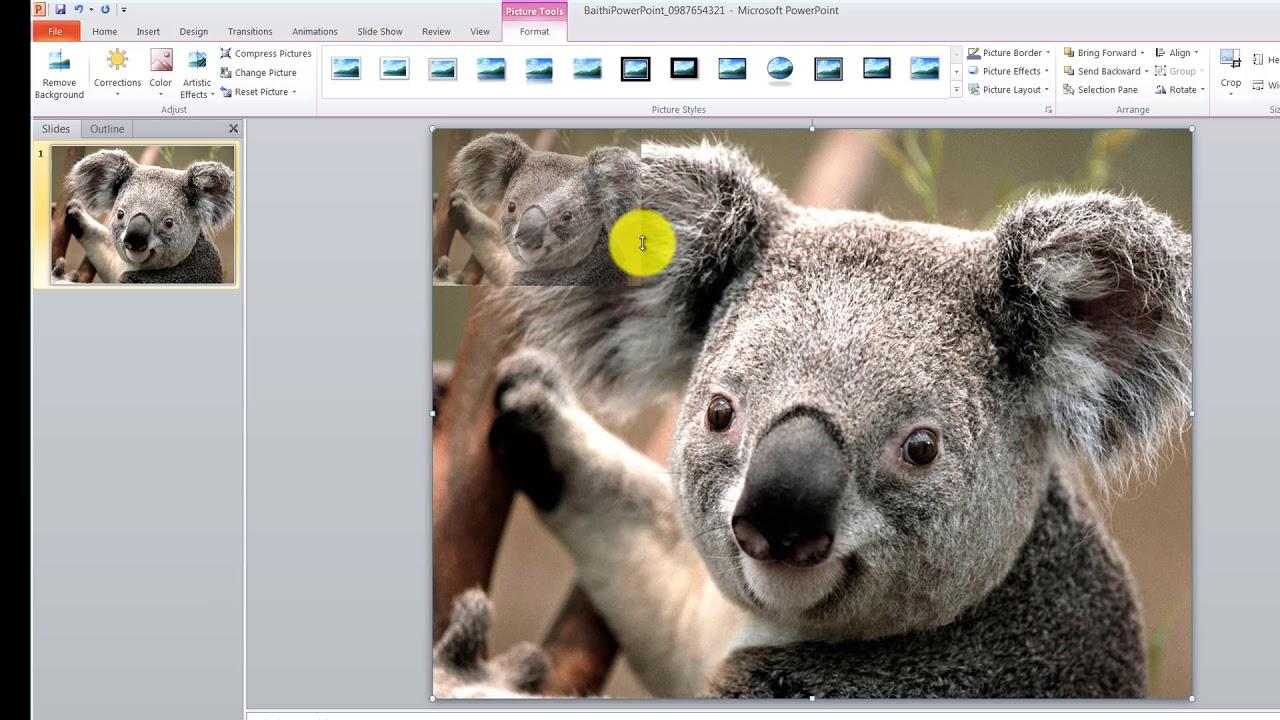 Hướng dẫn làm bài tập PowerPoint