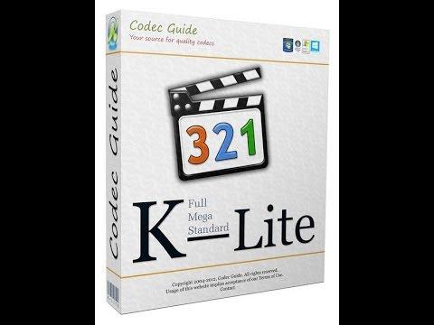 Установка K-Lite Codec Pack (Install K-Lite Codec Pack)