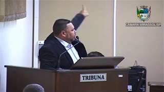 1ª Sessão Ordinária - Vereador Walmir Chaveiro