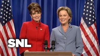 Sarah Palin and Hillary Address the Nation - SNL