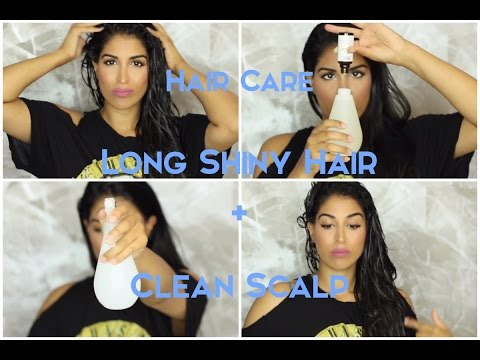 Hair Care: Long Shiny Hair and Clean Scalp