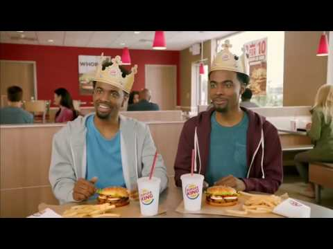 Burger King - Twins Two for 10 Whopper (Commercial)