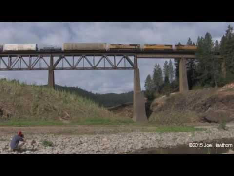 Railfanning DUNSMUIR part 2 of 2 June 17 - 21, 2015
