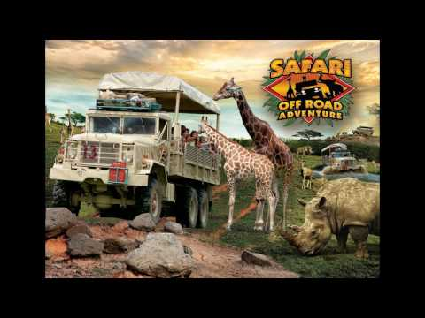 Six Flags Safari Off Road Adventure, New Jersey, USA - 1 Minute Story NS