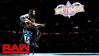 "Elias dedicates a new song to ""Woken"" Matt Hardy: Raw, Jan. 29, 2018"