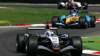 2005 Italian GP - Raikkonen vs Alonso