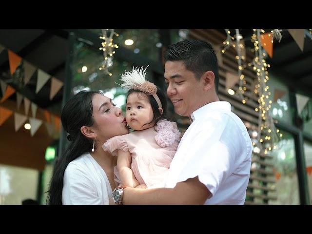 Santuario de San Jose Baptism & 1st Birthday of Rafiela