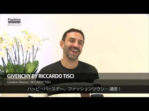 【ファッション通信 30周年スペシャルメッセージ 12】Fashion Tsushin 30th Anniversary Special Message No.12