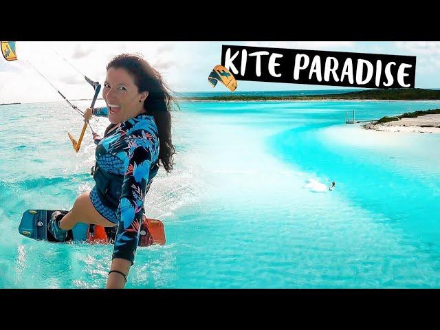 KITEBOARDING IS AWESOME | Sailing Catamaran To A Tropical Island