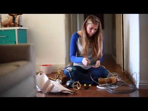How to DIY Industrial Wooden Beams #100reveal
