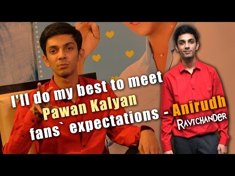 I'll do my best to meet Pawan Kalyan fans' expectations: Anirudh Ravichander | Exclusive Interview
