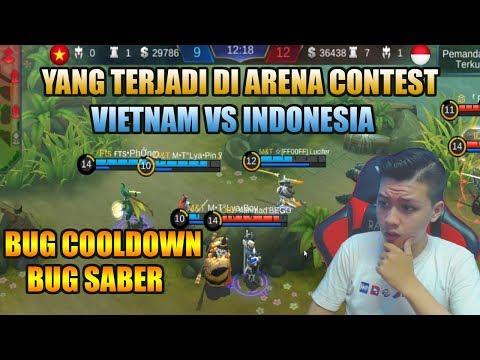 PENJELASAN CHEAT ARENA CONTEST  VIETNAM VS INDONESIA - MOBILE LEGEND