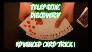 Telepathic Discovery: Advanced Card Trick Performance and Tutorial!