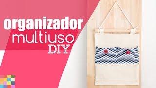 DIY – Organizador de tecido sem costura – Decore e Organize gastando pouco
