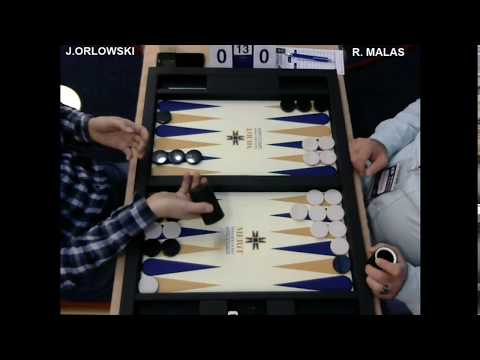 3rd Merit Open Montenegro J. Orlowski & R. Malas (Win)
