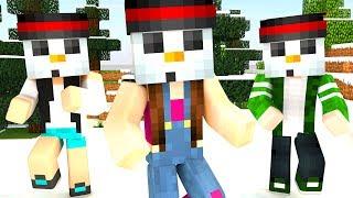 Minecraft - PEGA-PEGA BONECO DE NEVE (Snowman Survival)