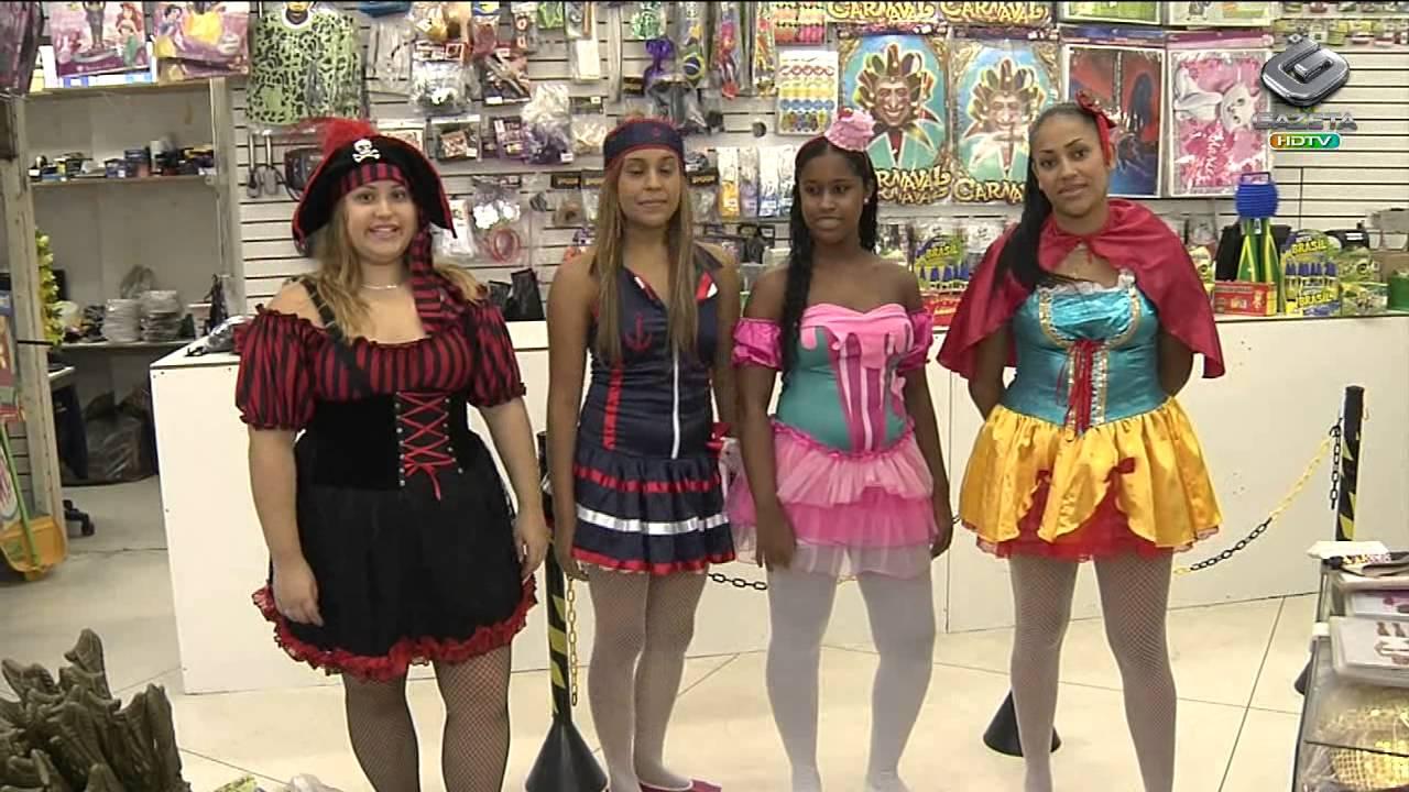 a5874f2c9 Foliões buscam fantasias na 25 de março de última hora - YouTube
