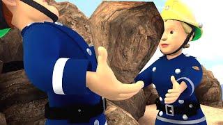 Strażak Sam | Podnoszenie Wielkie skały! Najlepsze ratunki | Bajki dla dzieci