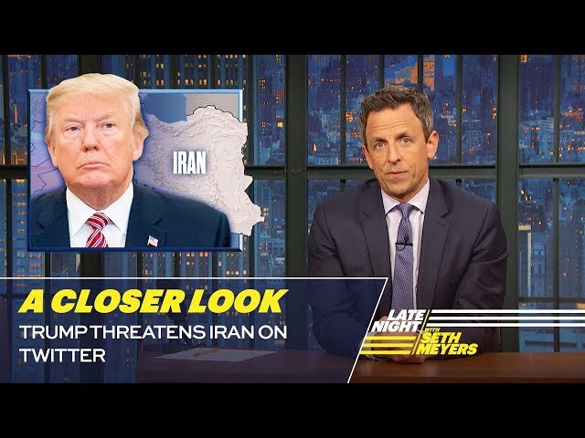 Trump Threatens Iran on Twitter: A Closer Look