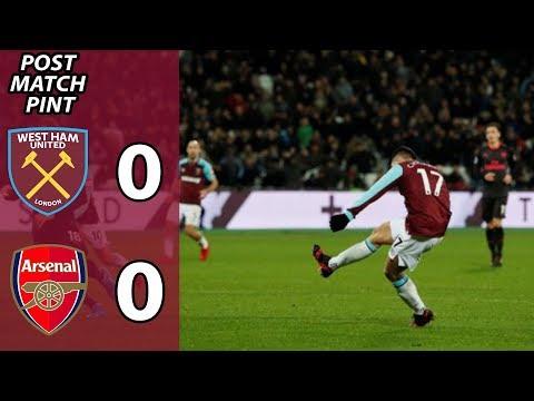 West Ham 0 Arsenal 0 | Post Match Reaction
