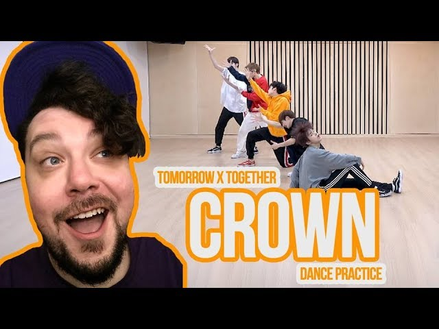 Mikey Reacts to TXT (CROWN) 'Dance Practice' (투모로우바이투게더) '어느날 머리에서 뿔이 자랐다