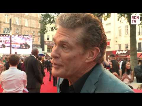 David Hasselhoff Interview Rush Premiere