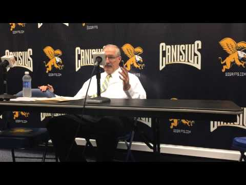 Jim Baron interview – Saint Peter's 70, Canisius 53