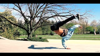 Just chillin (air flares edition) Feat. bboy Nono | n-art