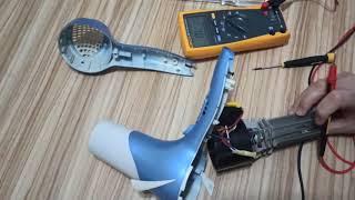 Saç kurutma makinesi arızaları nedir, nasıl çalışır, parçaları ne işe yarar?