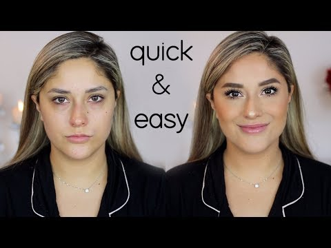 UPDATED EVERYDAY MAKEUP ROUTINE  | My Powder Foundation Routine