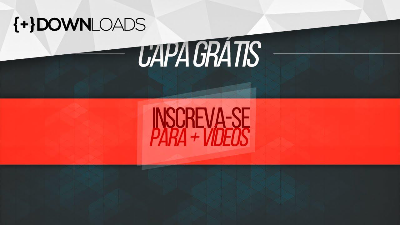 Capa De Youtube 2048x1152: Capa Para Todo Tipo De Canal Do YouTube (Grátis