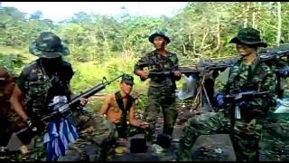 คลิป สันดานไม่ดี จากทหารชายแดน คลิปแมส   YouTube