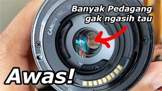 Cara Cek Jamur Lensa Mirrorless Sony & Canon